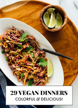 29 vegan dinner recipes