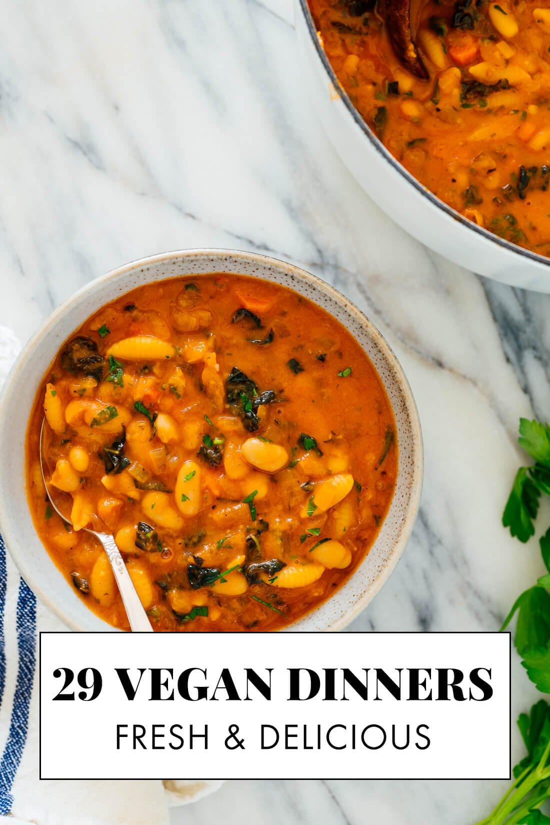29 vegan recipes