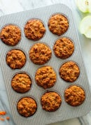 "Apple & Carrot ""Superhero"" Muffins"