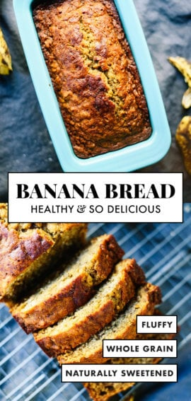 Healthy Banana Bread Recipe Cookie And Kate
