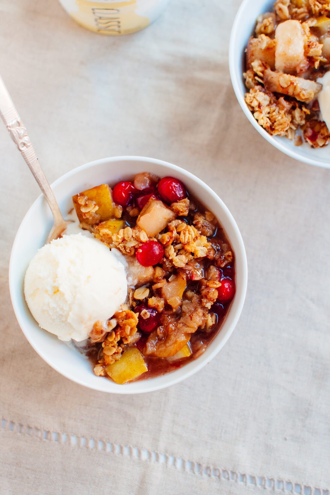 Pear cranberry crisp recipe
