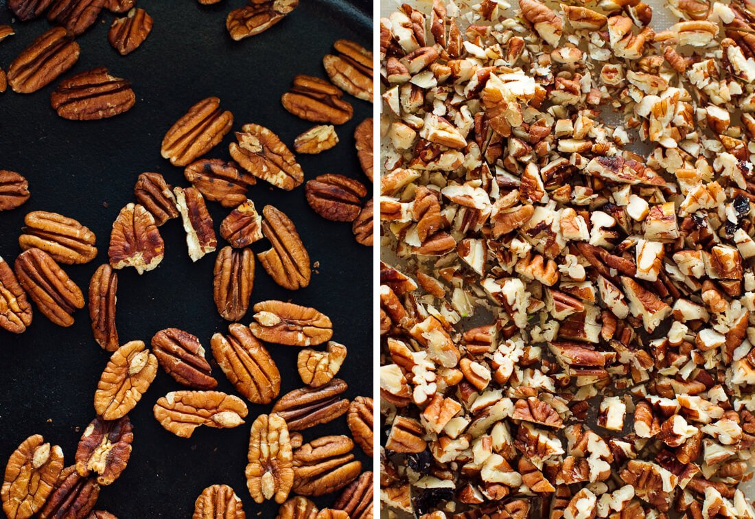 toasted chopped pecans