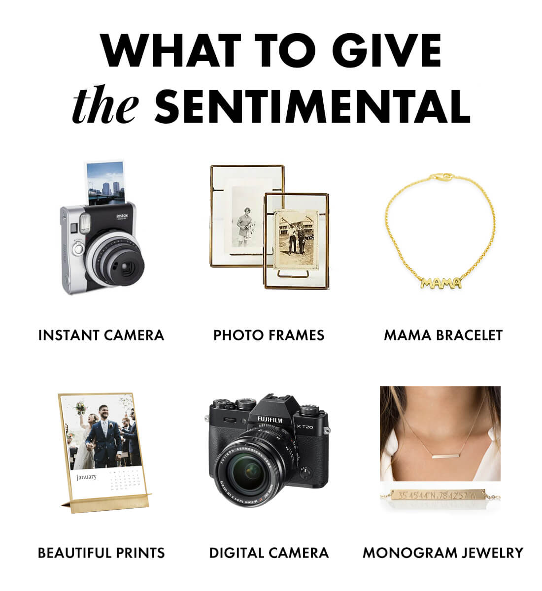 gifts for the sentimental