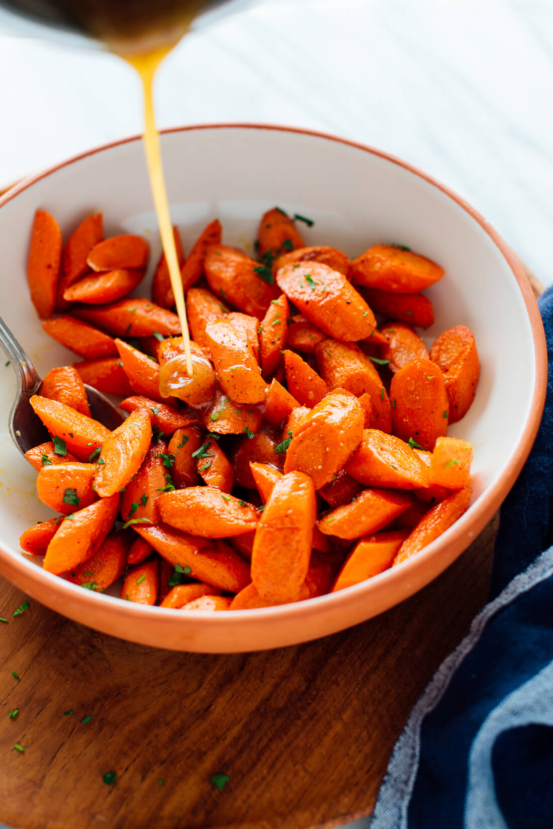 how to make honey butter roasted carrots