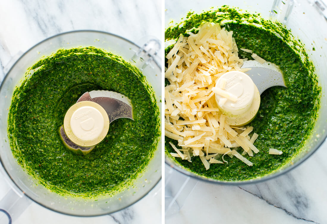 how to make kale pesto