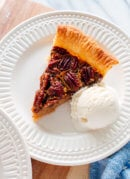 Naturally Sweetened Pecan Pie