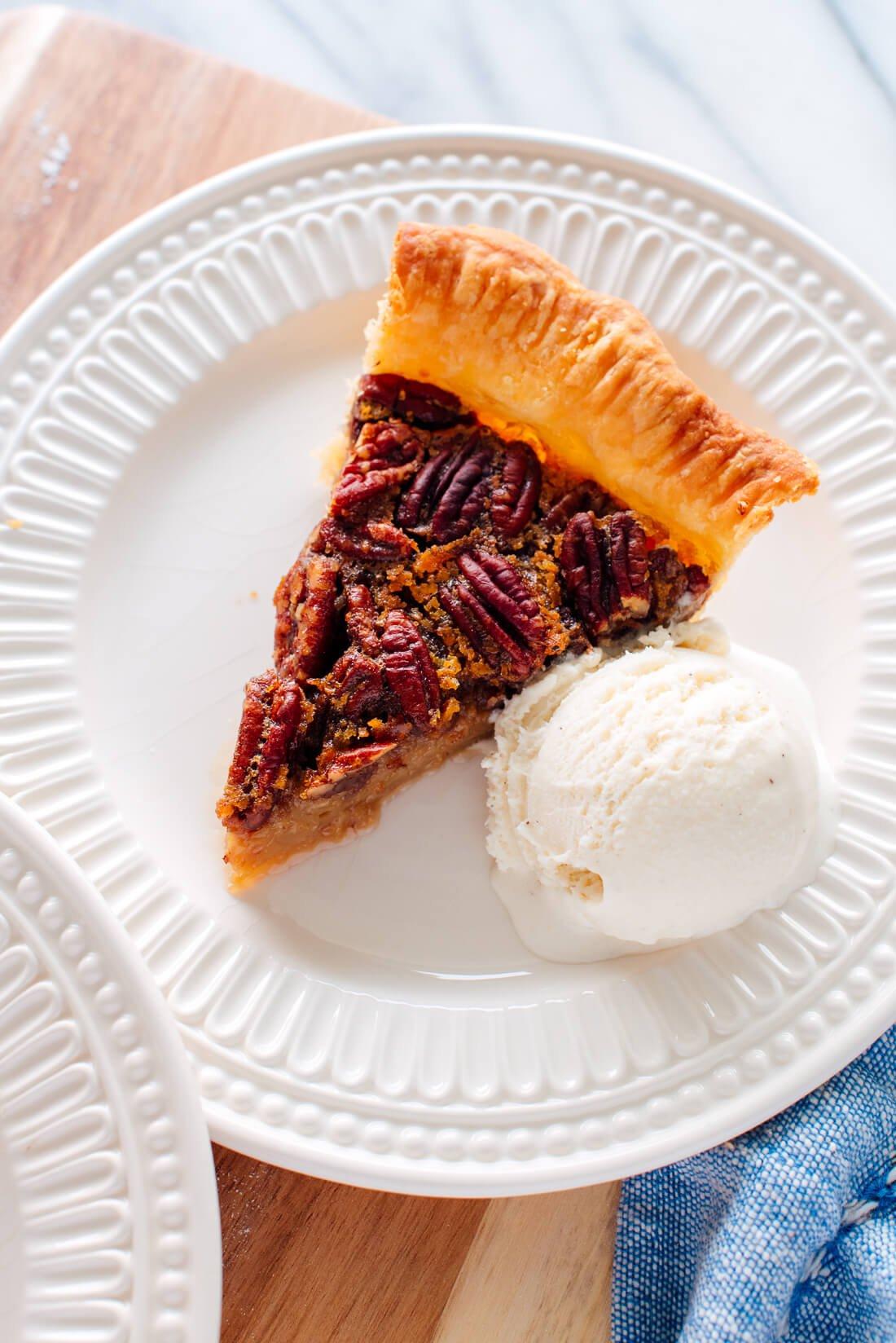 Naturally Sweetened Pecan Pie