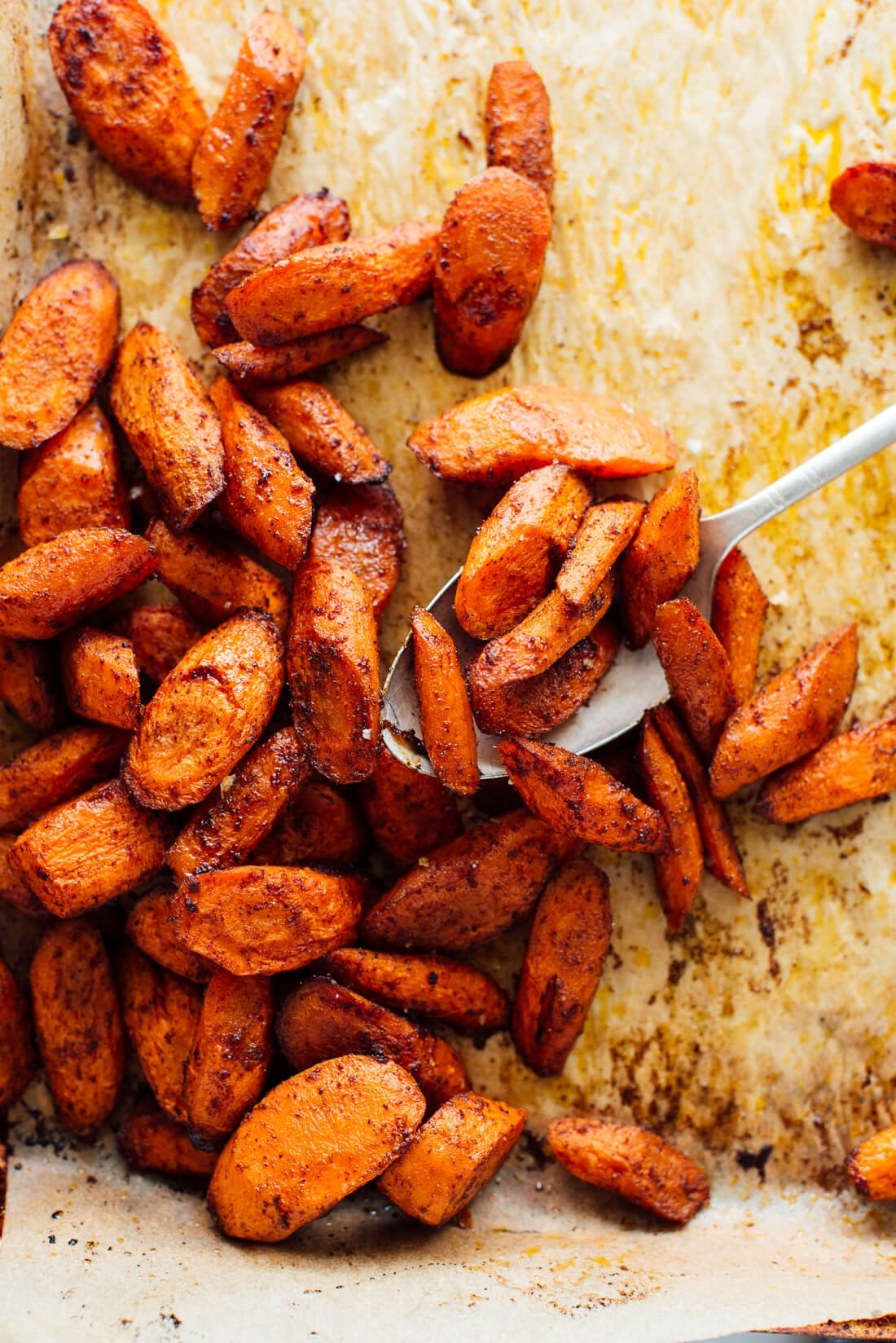 spiced roasted carrots recipe