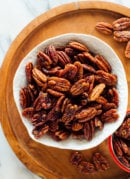 Naturally Sweetened Candied Pecans