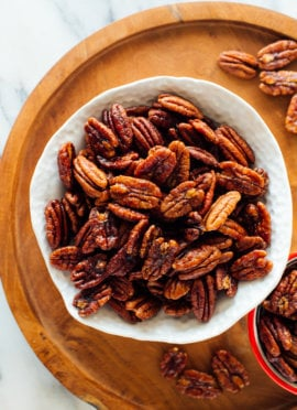 best candied pecans recipe