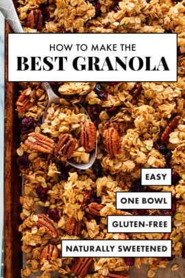 best granola recipe healthy