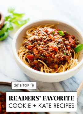 Your Top 10 Recipes of 2018