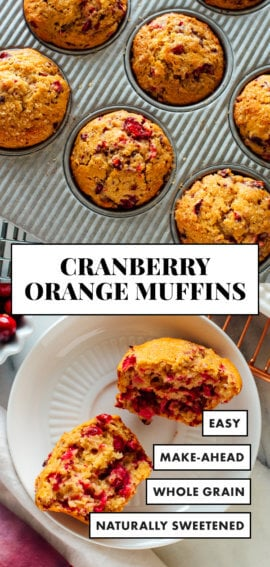 Best cranberry orange muffins recipe
