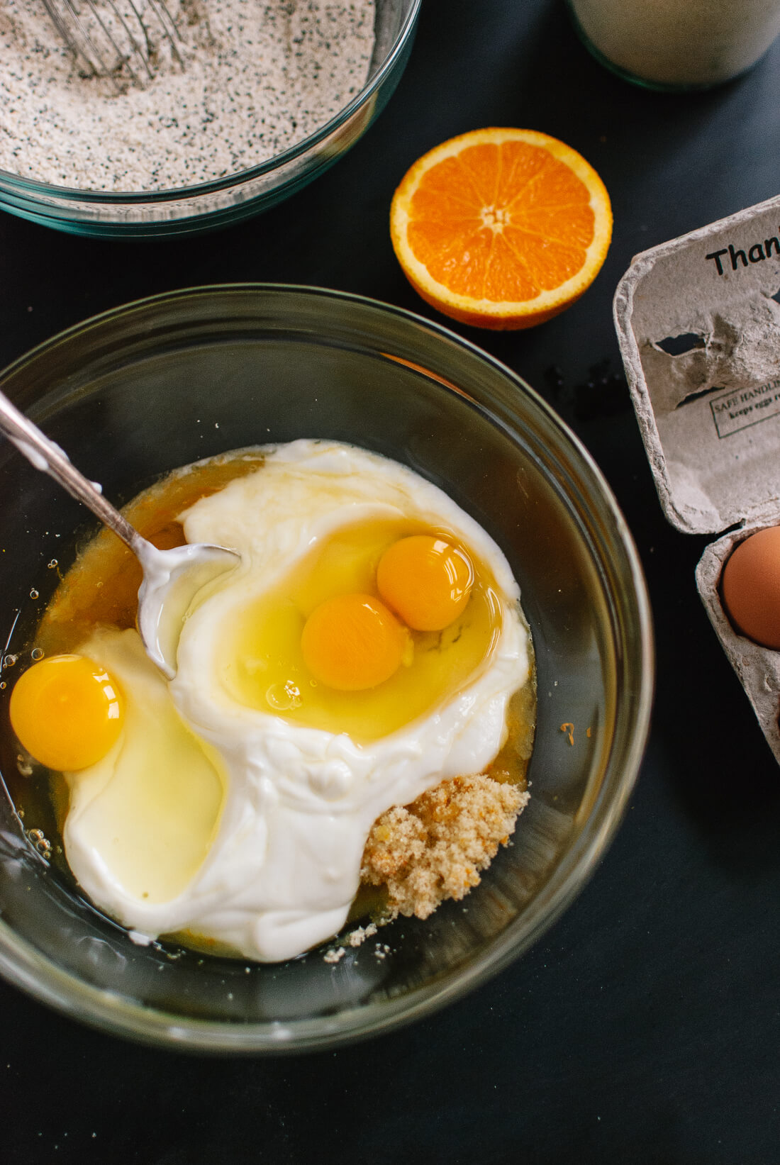 How to make Orange Poppy Seed Pound Cake