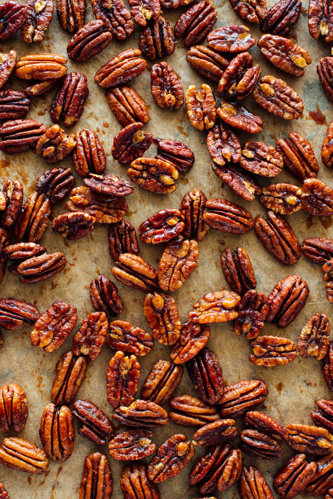 maple candied pecans recipe