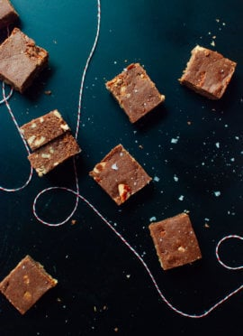 salted oat fudge recipe