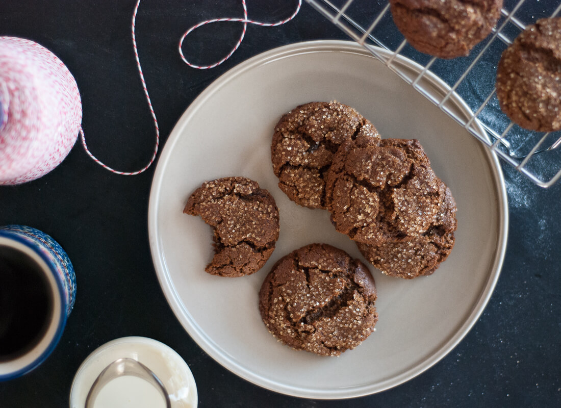 spicy molasses cookies recipe
