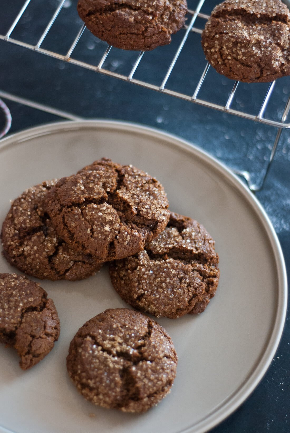 whole wheat molasses cookie recipe