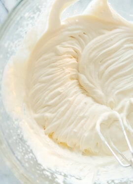 whipped cream medium peaks