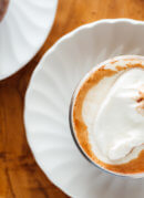 hot chocolate overhead