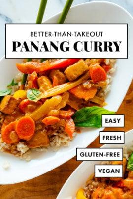 panang curry recipe pin
