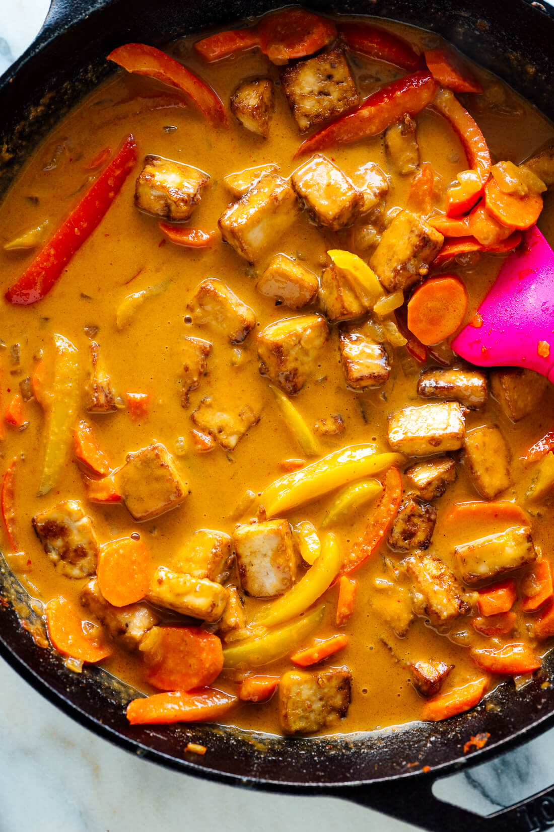 thai panang curry recipe with tofu