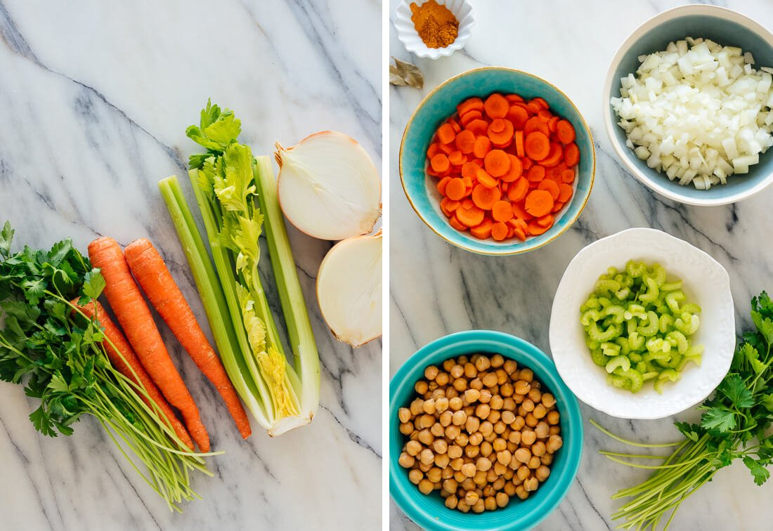 chickpea noodle soup recipe