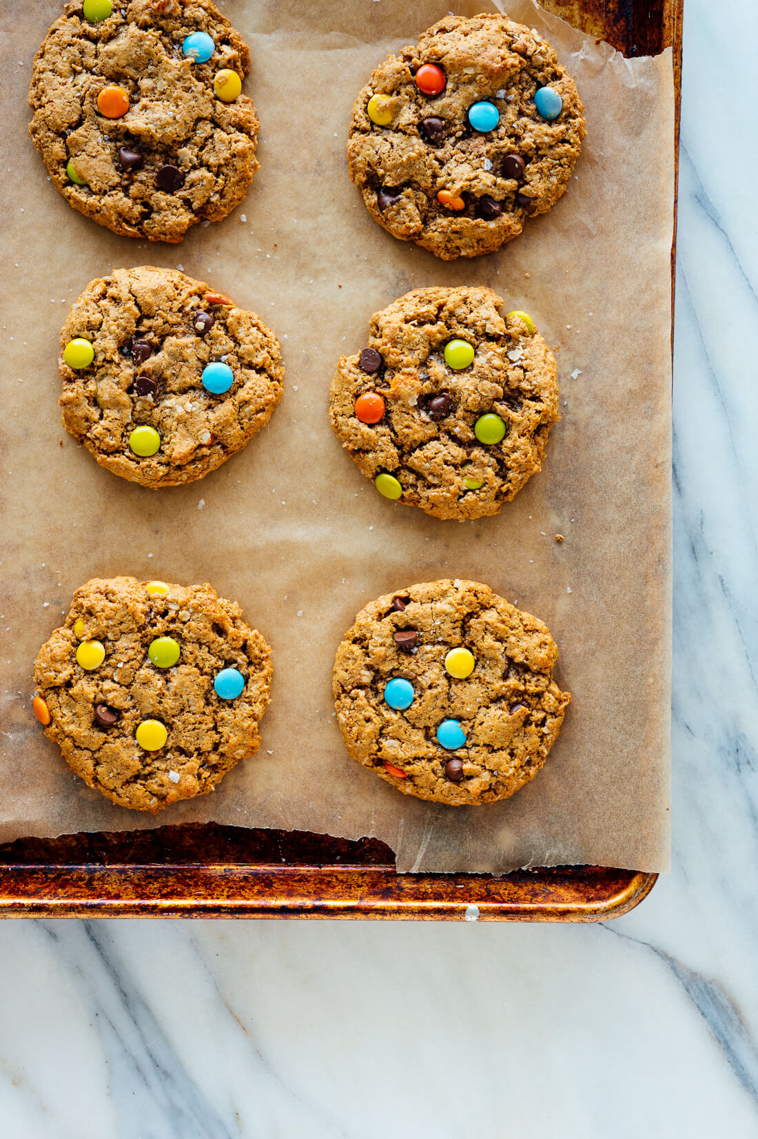 flourless gluten-free monster cookies recipe