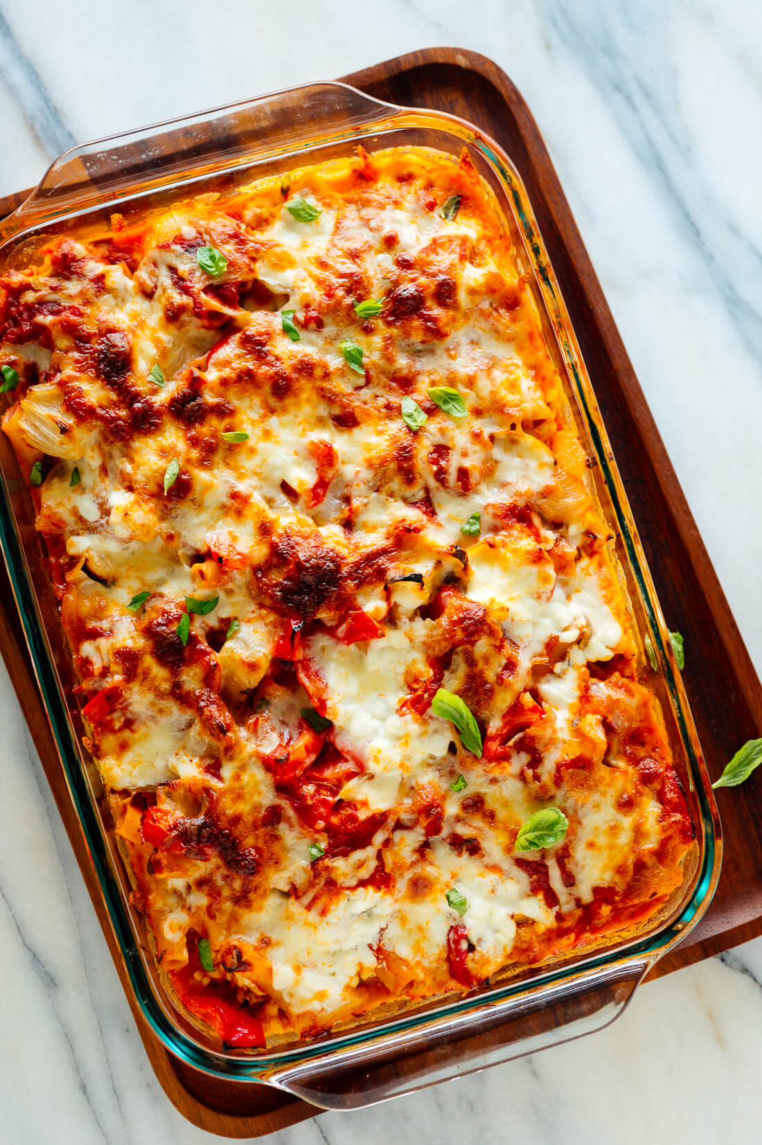 vegetable baked ziti recipe