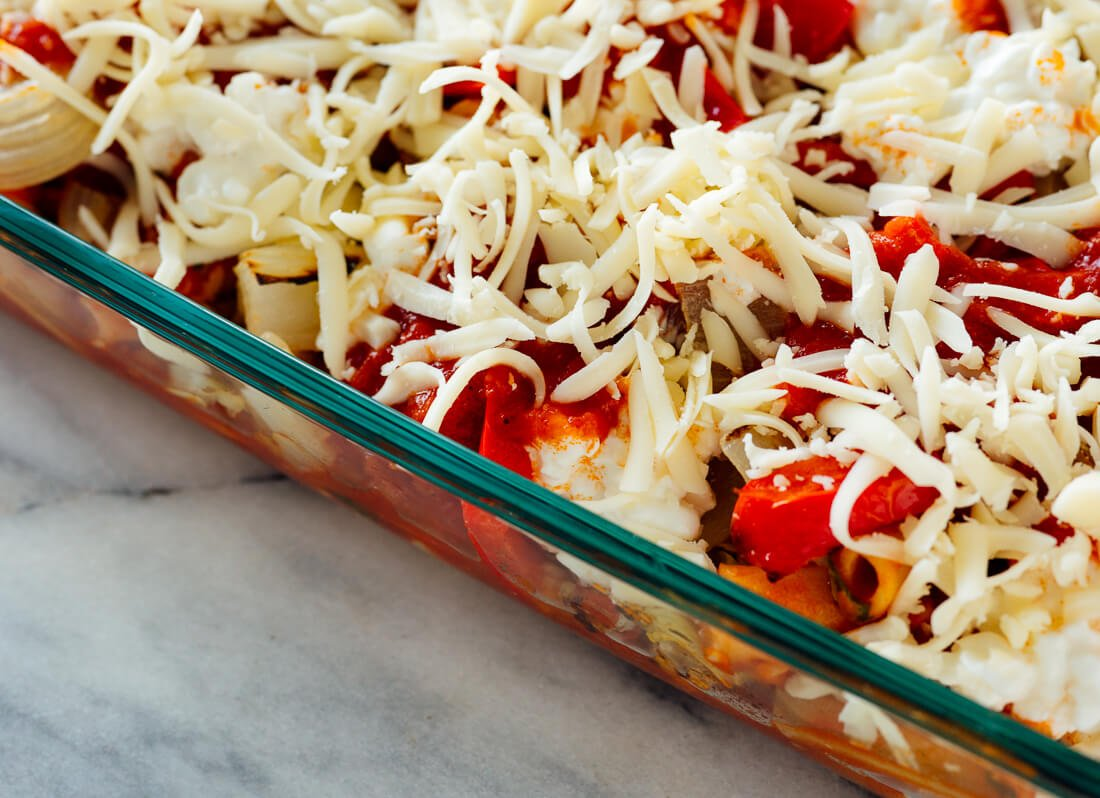 ziti before baking