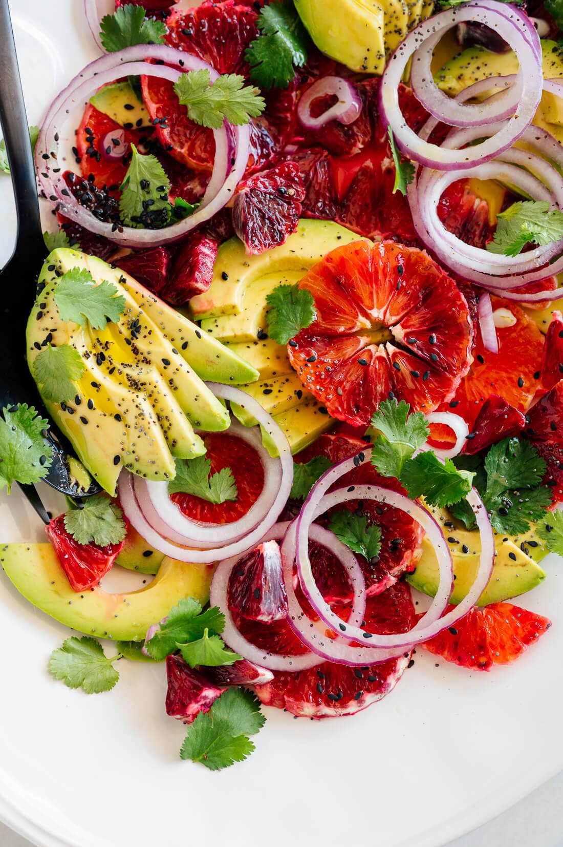 blood orange and avocado salad recipe-3