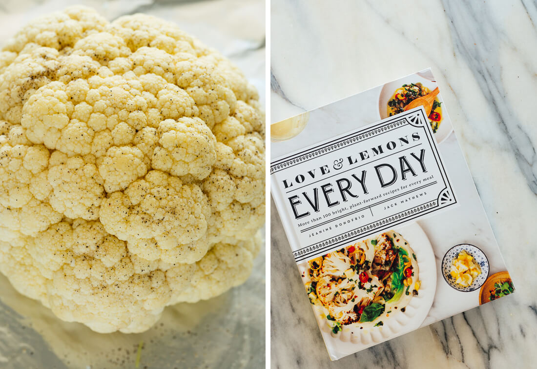 cauliflower and love and lemons everyday cookbook
