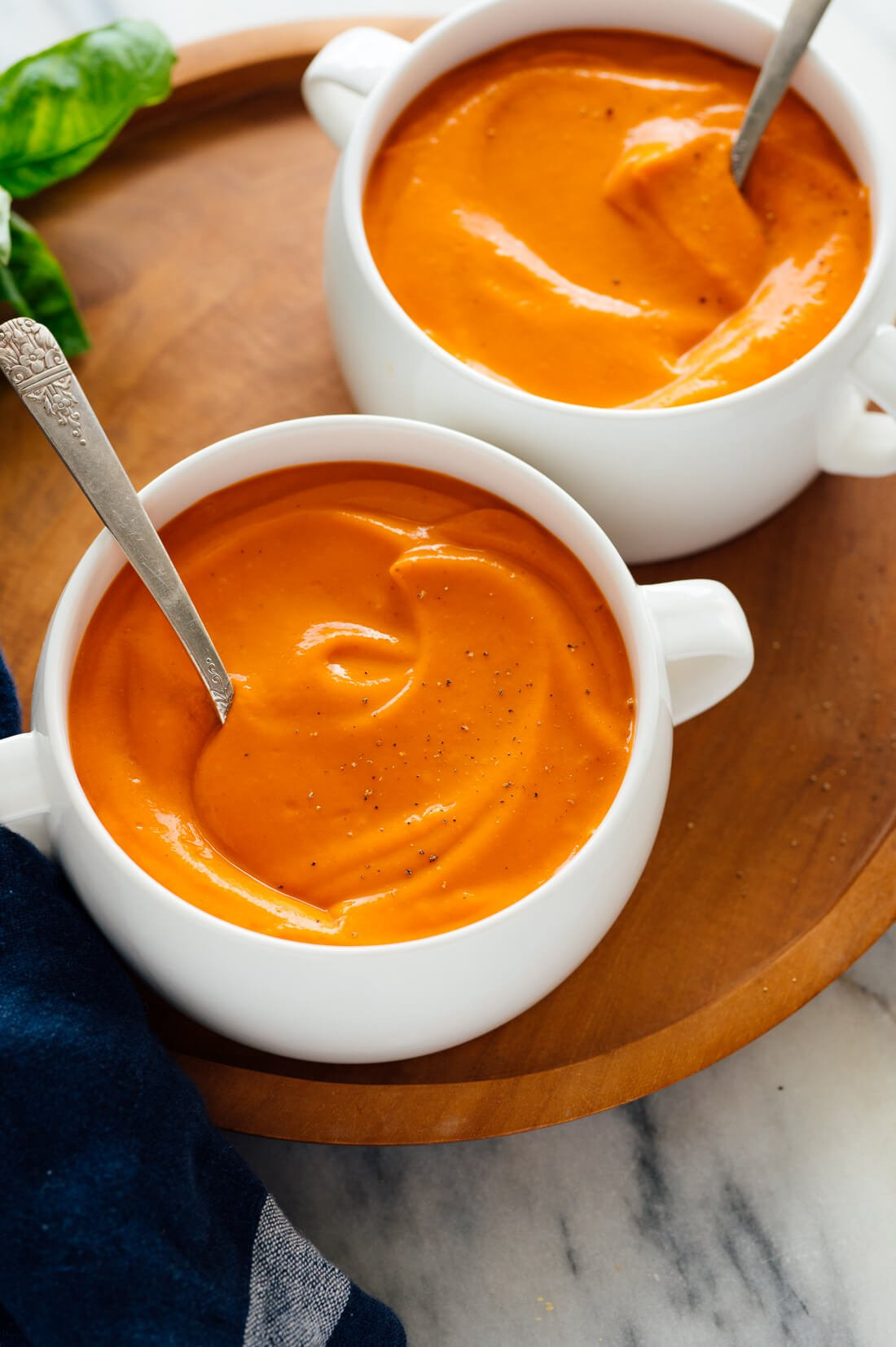 Classic Tomato Soup (Lightened Up!)