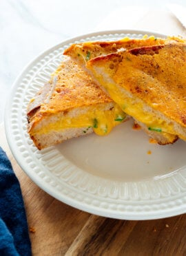 Favorite Grilled Cheese Sandwich