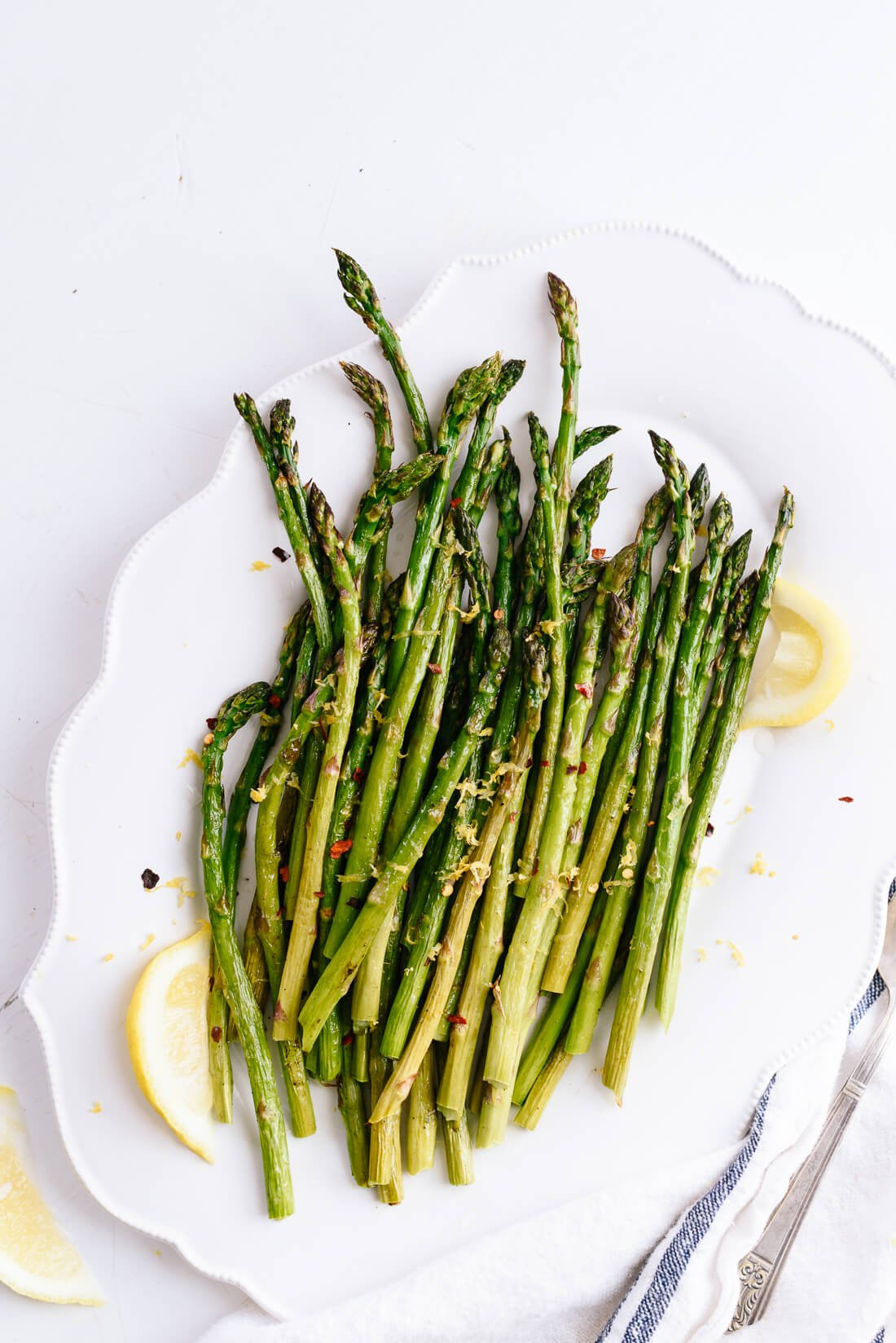 roasted asparagus recipe with lemon