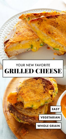 your new favorite grilled cheese sandwich