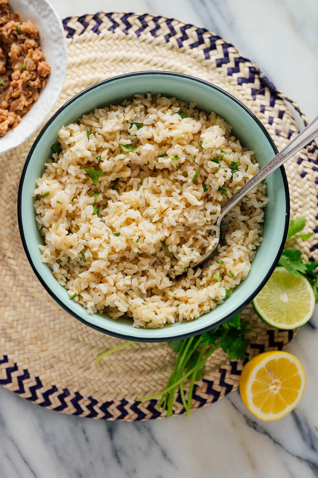 cilantro lime brown rice recipe