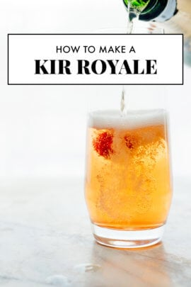 best kir royale cocktail