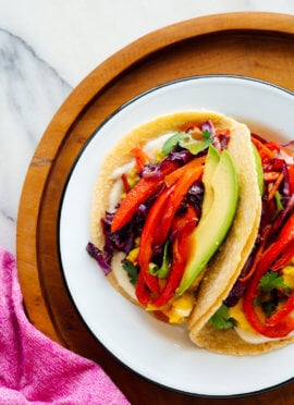 vegetarian breakfast tacos recipe