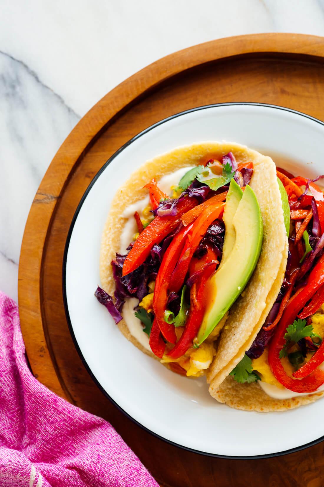 Tacos de desayuno favoritos