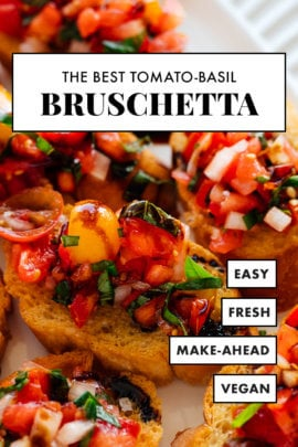 best tomato-basil bruschetta recipe