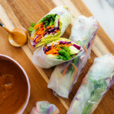 Fresh spring rolls recipe 4 225x225