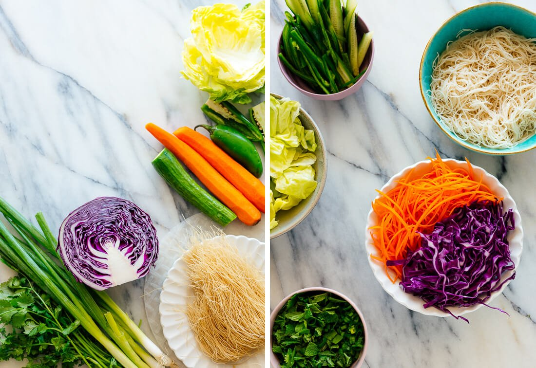spring roll ingredients