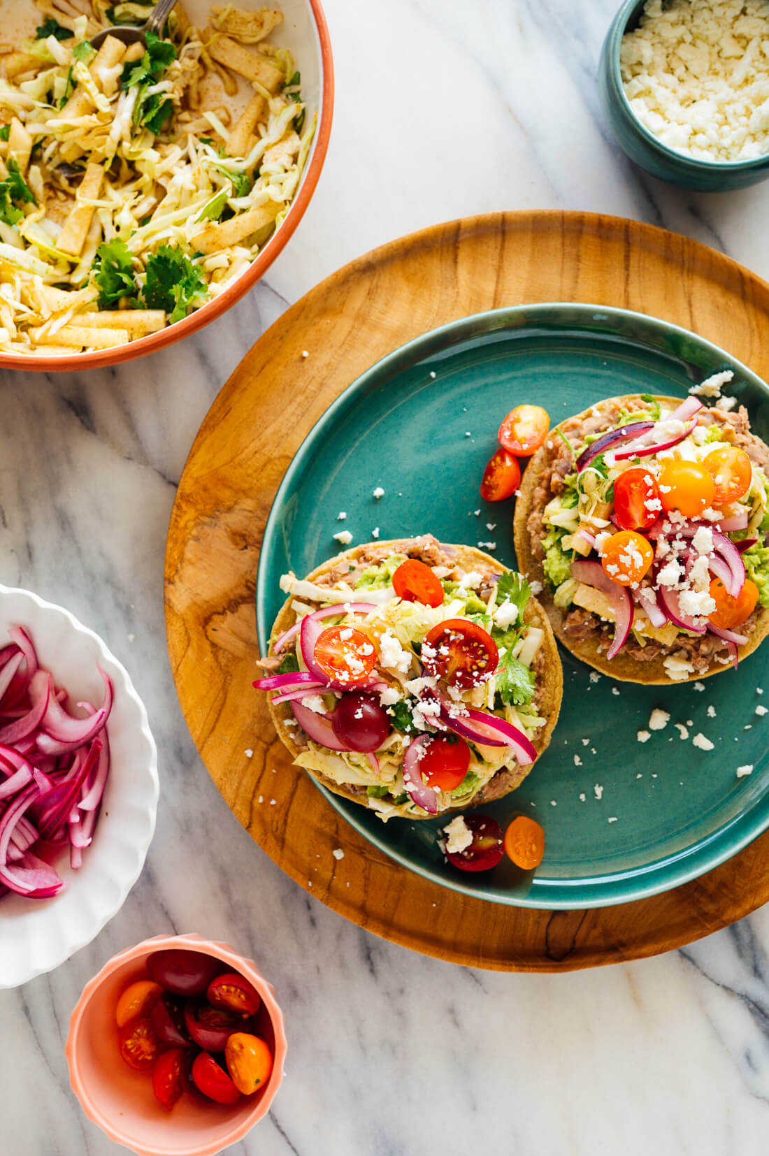 mexican tostadas recip