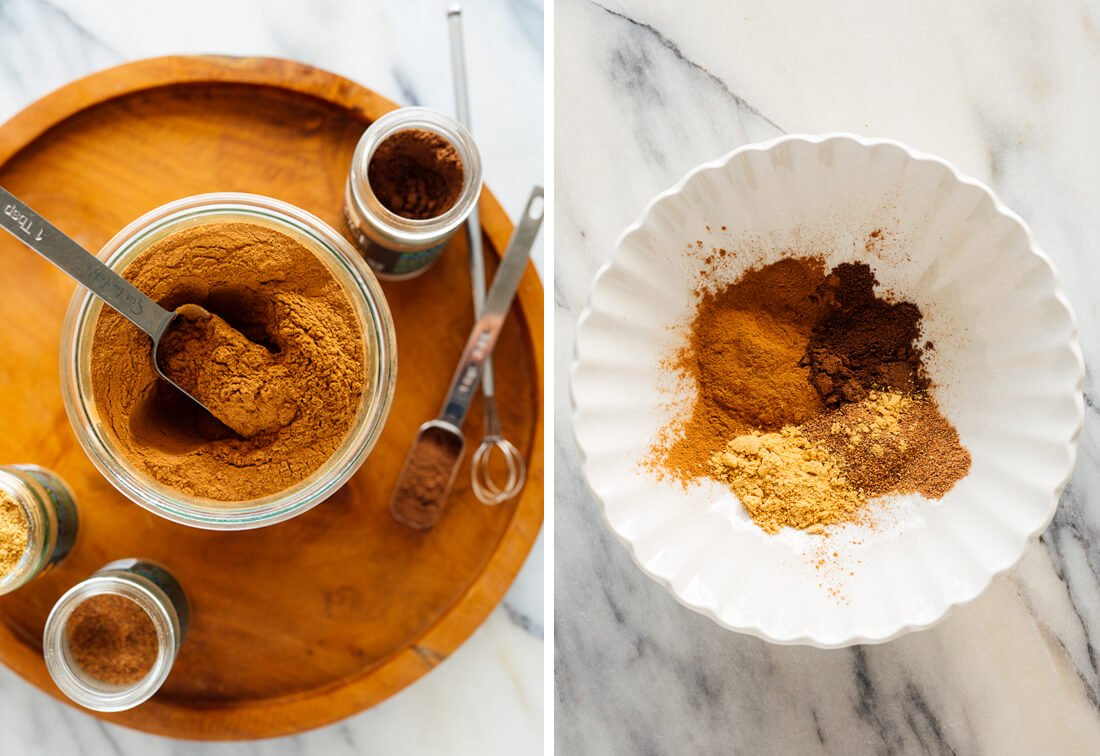 pumpkin spice blend ingredients