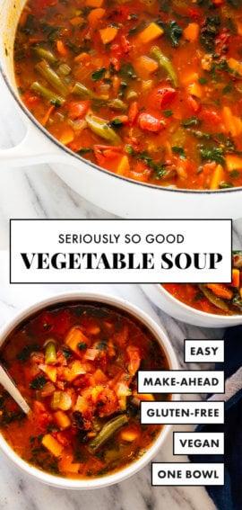 delicious vegetable soup recipe