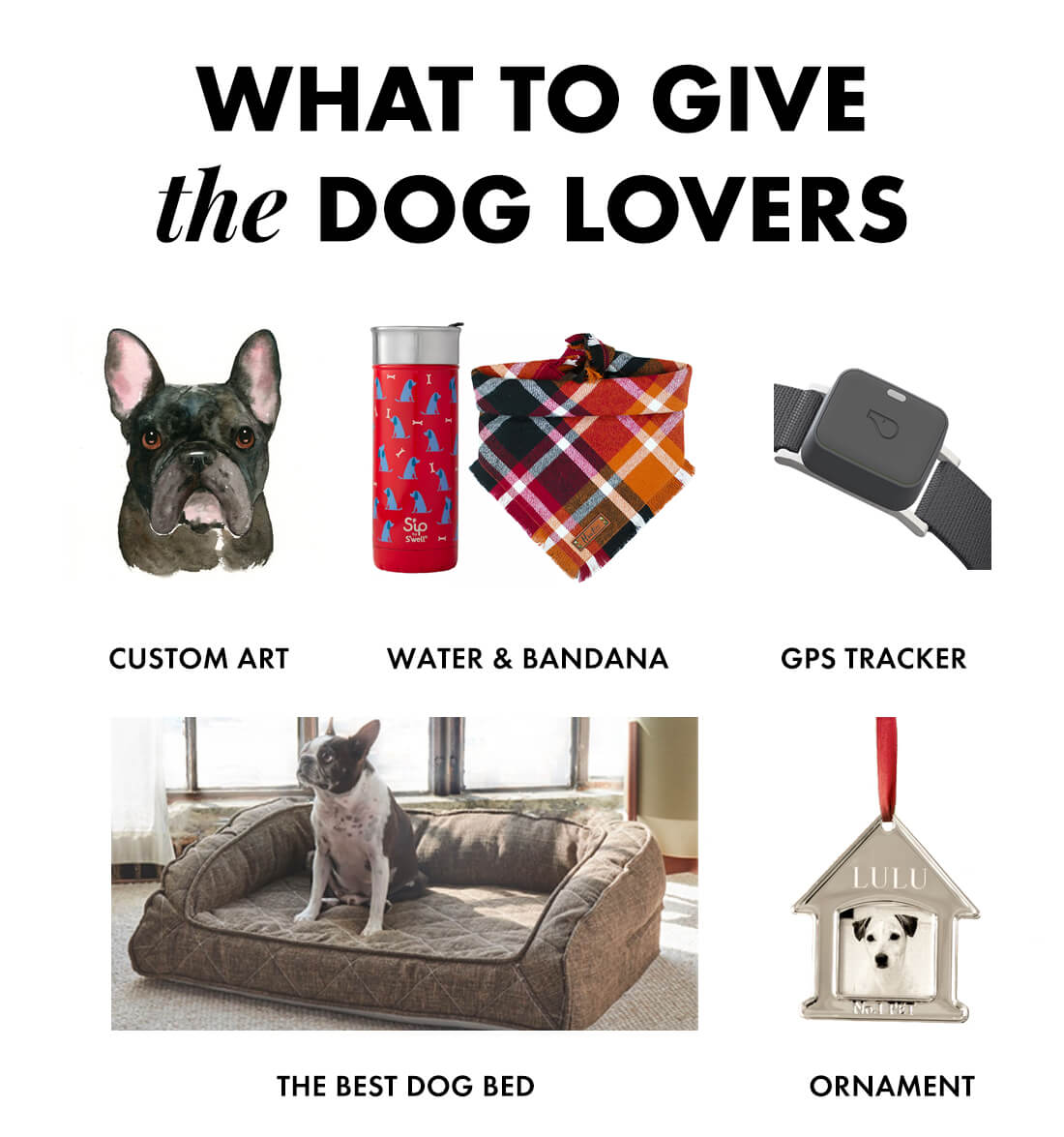 Gifts for the dogs and dog lovers 2019
