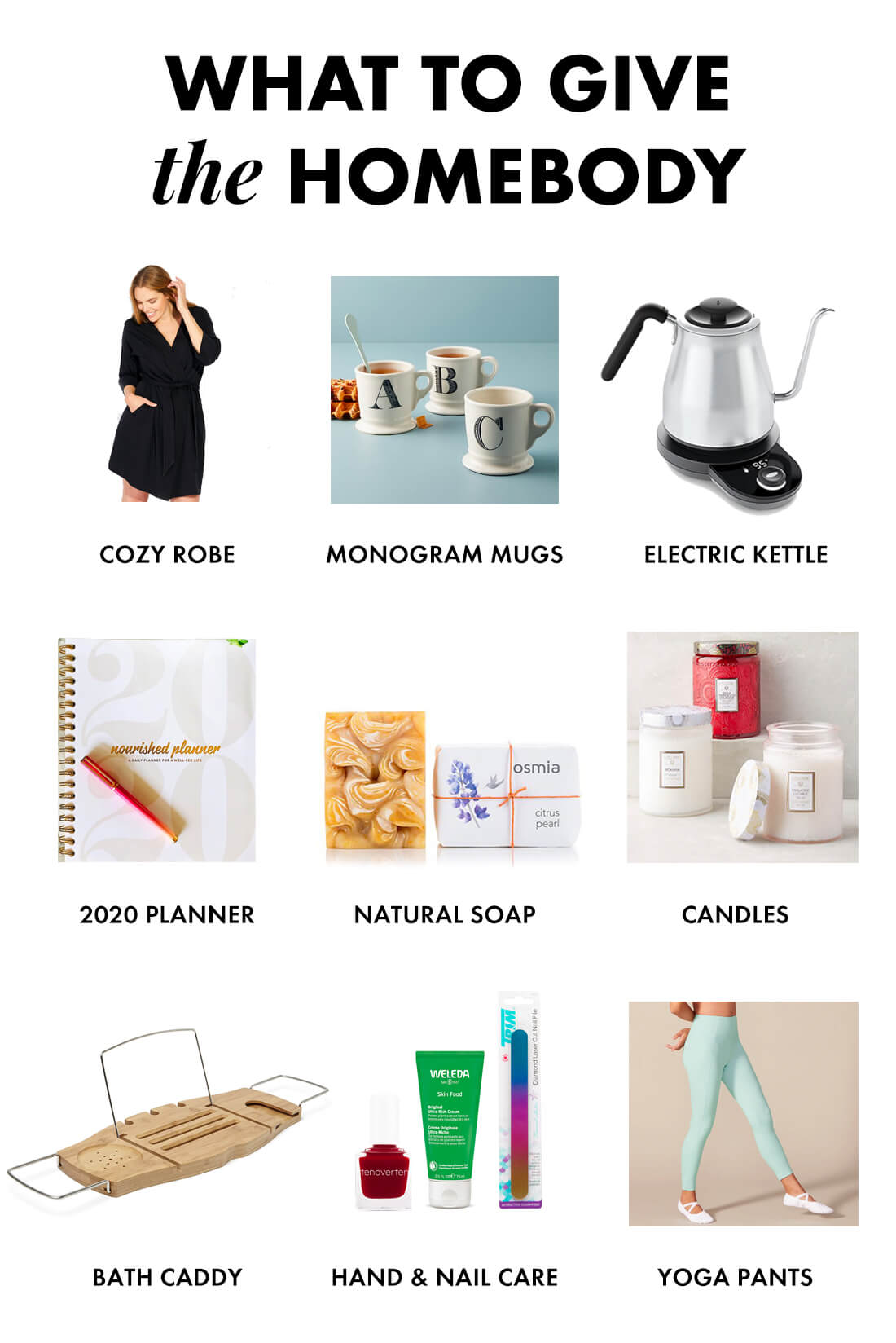 gifts for the homebody 2019