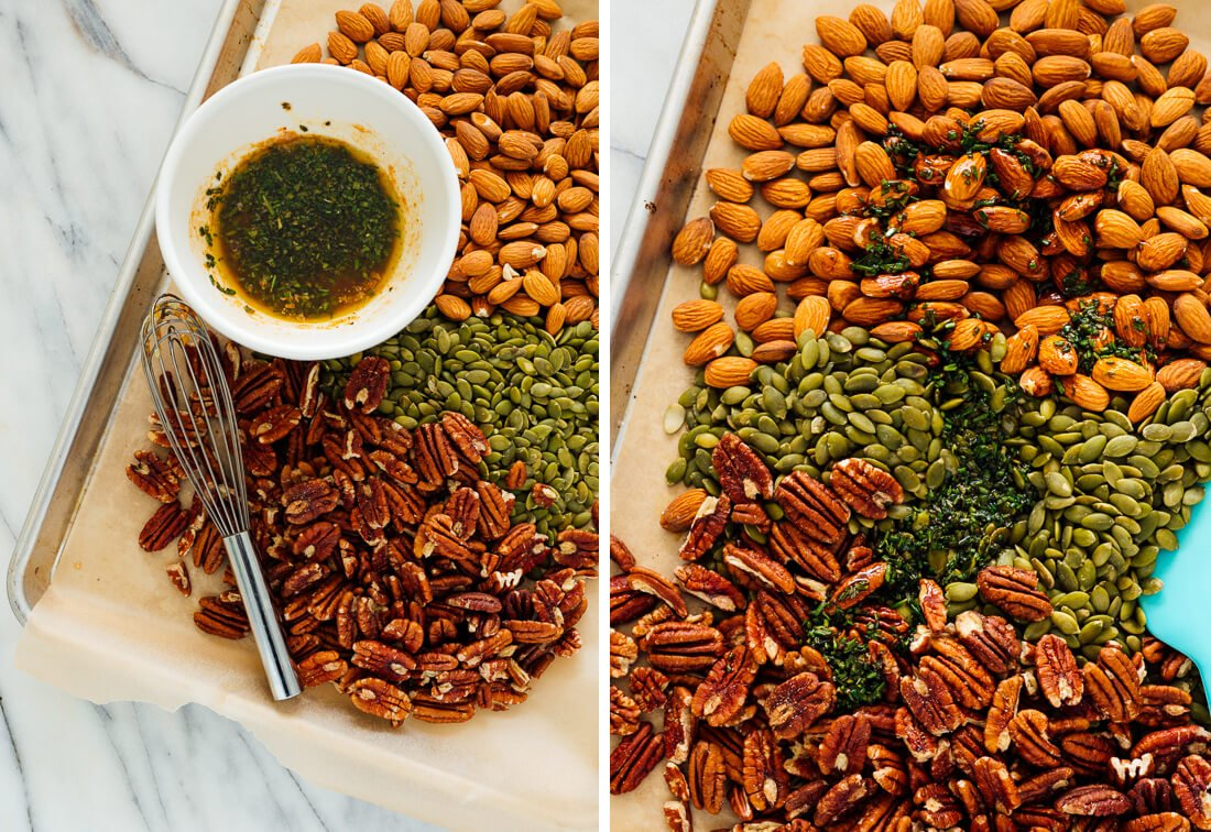 how to make party nuts