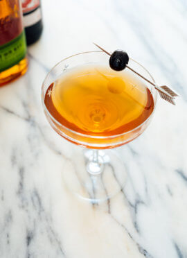 Classic Manhattan cocktail recipe